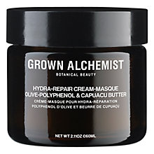 Buy Grown Alchemist Hydra-Repair Cream-Masque: Olive-Polyphenol & Capuacu Butter, 60ml Online at johnlewis.com