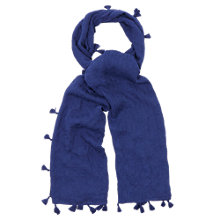 Buy Oasis Tassel Plain Scarf Online at johnlewis.com