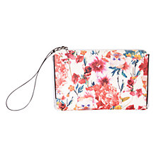 Buy Karen Millen Floral Print Clutch Bag, Multi Online at johnlewis.com