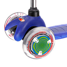 Buy Micro Scooters LED Wheel Whizzers, Green/Blue/White Online at johnlewis.com
