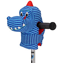 Buy Micro Dino Head Scooter Accessory, Blue/Red Online at johnlewis.com