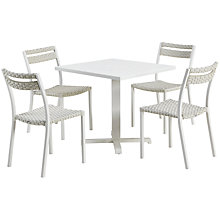 Buy Ethimo Infinity 4-Seater Dining Square Table Set Online at johnlewis.com