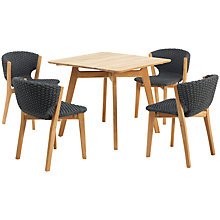 Buy Ethimo Knit Dining Set 4-Seater Online at johnlewis.com
