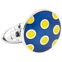 Buy Thomas Pink Hayton Spot Cufflinks Online at johnlewis.com