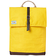 Buy TOMS Utility Backpack Online at johnlewis.com