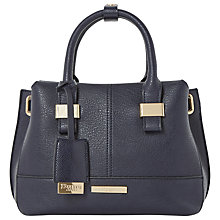 Buy Dune Dinidawson Mini Eyelet Grab Bag, Blue Online at johnlewis.com