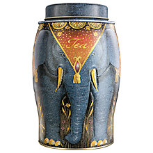 Buy Williamson Tea Blue Caddy with 20 Earl Grey Teabags Online at johnlewis.com
