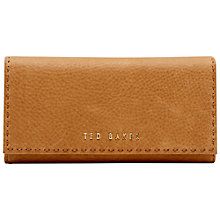 Buy Ted Baker Sizzer Leather Matinee Wallet, Tan Online at johnlewis.com