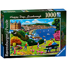 Buy Ravensburger Happy Days Scarborough Jigsaw Puzzle, 1000 Pieces Online at johnlewis.com