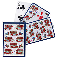 Buy Milly Green Celebrating Britain New Playing Cards Online at johnlewis.com