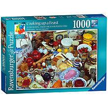 Buy Ravensburger Cooking Up A Feast Jigsaw Puzzle, 1000 Pieces Online at johnlewis.com
