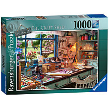 Buy Ravensburger The Craft Shed Jigsaw Puzzle, 1000 Pieces Online at johnlewis.com