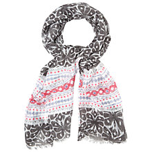 Buy White Stuff Oriental Ikat Butterfly Scarf, Multi Online at johnlewis.com