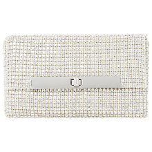 Buy Dune Enya Diamante Turn Lock Clutch Bag Online at johnlewis.com