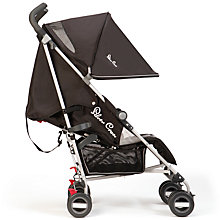 Buy Silver Cross Zest Stroller, Black Online at johnlewis.com