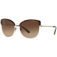 Buy Bvlgari BV6082 Cat's Eye Half Frame Sunglasses Online at johnlewis.com