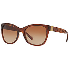 Buy Burberry BE4219 Square Gradient Sunglasses Online at johnlewis.com