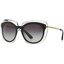 Buy Dolce & Gabbana DG4282 Gradient Oval Sunglasses Online at johnlewis.com
