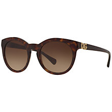 Buy Dolce & Gabbana DG4279 Oval Sunglasses Online at johnlewis.com