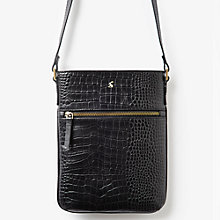 Buy Joules Mayfair Leather Across Body Bag Online at johnlewis.com