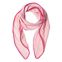 Buy Rockahula Girls' Polka Dot Scarf, Pink Online at johnlewis.com
