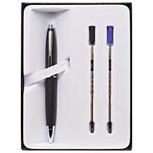 Buy Cross Calais Ballpoint Pen, Matt Black Online at johnlewis.com