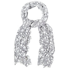 Buy White Stuff Mark Maker Floral Scarf, Blue Online at johnlewis.com