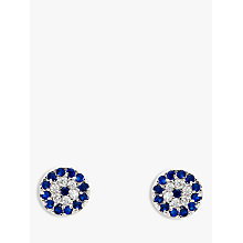 Buy Melissa Odabash Glass Crystal Evil Eye Stud Earrings Online at johnlewis.com