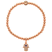 Buy Melissa Odabash Hamsa Bracelet, Rose Gold Online at johnlewis.com