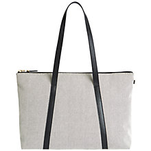 Buy Jaeger Lexington Canvas Small Tote Bag Online at johnlewis.com