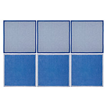 Buy John Lewis French Coastal Napkin, Set of 6, Blue / White Online at johnlewis.com