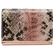 Buy Ted Baker Eloraa Small Leather Purse Online at johnlewis.com
