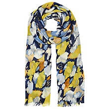 Buy Whistles Animal Strokes Print Scarf, Yellow / Multi Online at johnlewis.com