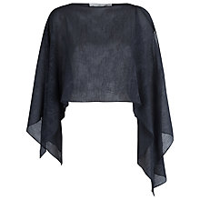 Buy Damsel in a dress Embossed Shrug, Grey Online at johnlewis.com