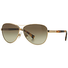 Buy Ralph Lauren RA4116 Gradient Aviator Sunglasses Online at johnlewis.com