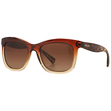 Buy Ralph Lauren RA5210 Polarised Square Sunglasses, Terra Cotta/Beige Online at johnlewis.com
