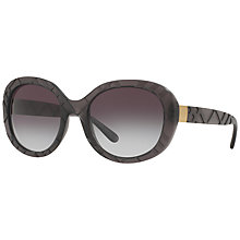 Buy Burberry BE4218 Gradient Oval Sunglasses Online at johnlewis.com