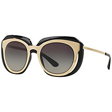 Buy Dolce & Gabbana DG6104 Two Tone Oval Sunglasses Online at johnlewis.com