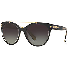 Buy Dolce & Gabbana DG4280 Gradient Oval Sunglasses Online at johnlewis.com