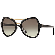 Buy Prada SPR18S Gradient Cat's Eye Sunglasses Online at johnlewis.com