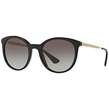 Buy Prada SPR17S Oval Gradient Sunglasses Online at johnlewis.com