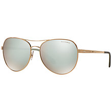 Buy Tiffany & Co TF3051B Aviator Sunglasses Online at johnlewis.com