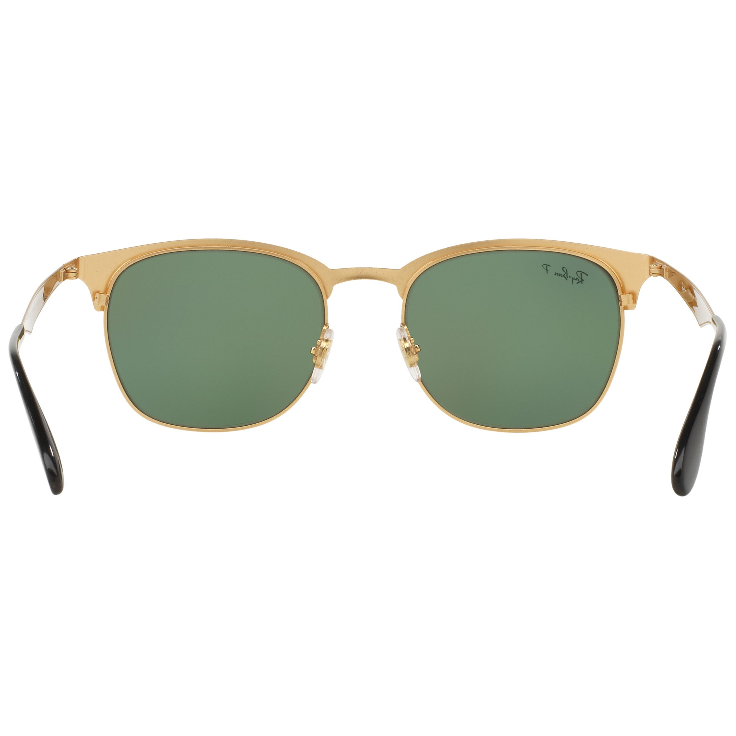 Half Frame Square Glasses : Buy Ray-Ban RB3538 Half Frame Polarised Square Sunglasses ...