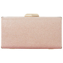 Buy Dune Beatrice Clutch Bag, Pink Online at johnlewis.com