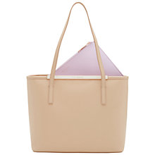 Buy Ted Baker Adira Crosshatch Small Leather Shopper Bag Online at johnlewis.com