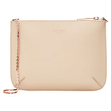 Buy Ted Baker Becky Crosshatch Leather Across Body Bag Online at johnlewis.com