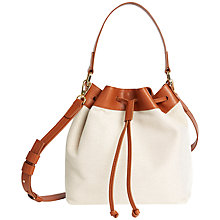Buy Jaeger Canvas Duffle Bag Online at johnlewis.com