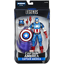 Buy The Avengers Marvel Legends Series Captain America Action Figure Online at johnlewis.com