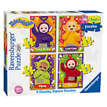 Buy Teletubbies My First Puzzles 4 Chunky Jigsaw Puzzles Online at johnlewis.com