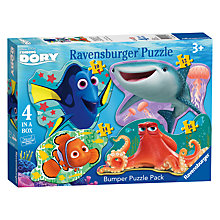 Buy Finding Dory 4 Shaped Puzzles Online at johnlewis.com